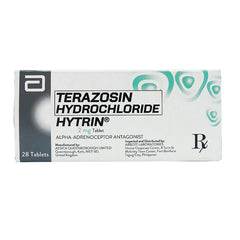 Rx: Hytrin Tablet 2 mg