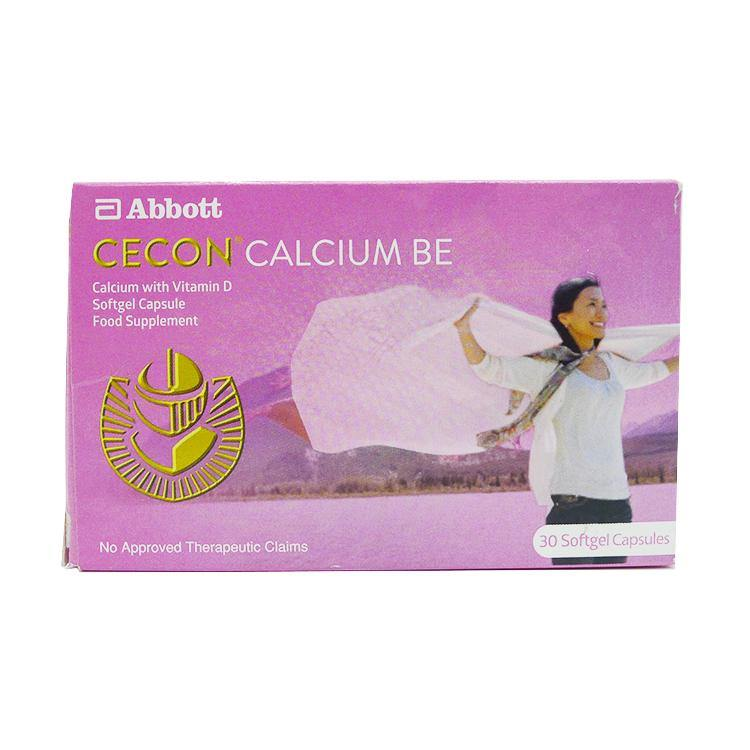 Cecon Calcium Be Capsule - 30s