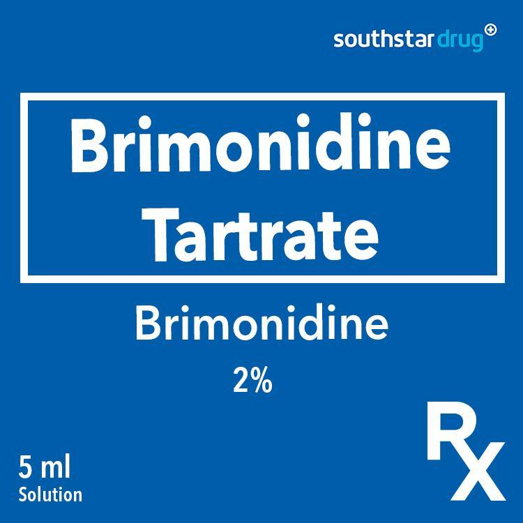 Rx: Brimonidine 0.2% 5 ml Solution - Southstar Drug