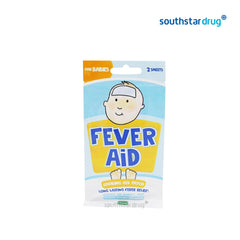 Fever Aid For Babies Cooling Gel Patch - 2s - Southstar Drug