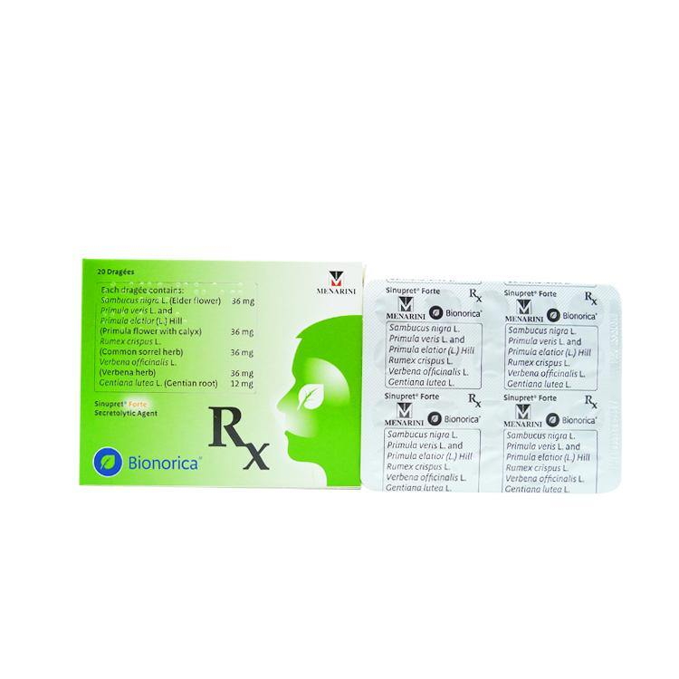 Rx: Sinupret Forte Tablet