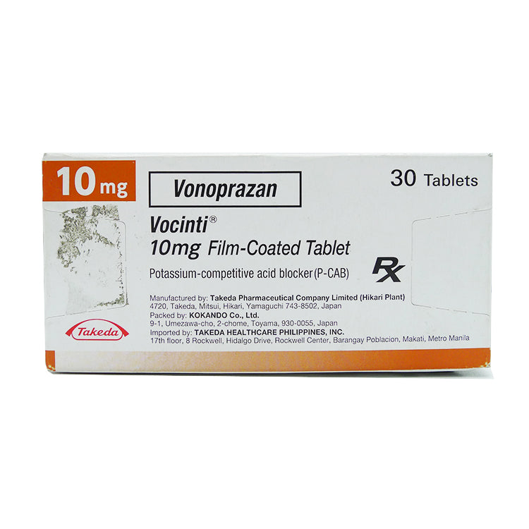 Rx: Vocinti 10 mg Tablet