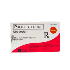 Rx: Utrogestan Vaginal 200 mg Softgel Capsule
