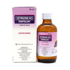 Temprazin 5 mg / 5 ml Grapes 60 ml Syrup
