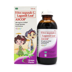Ascof Kids Grape 300 mg / 5 ml 120 ml