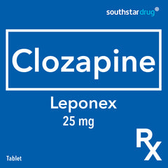 Rx: Leponex 25 mg Tablet