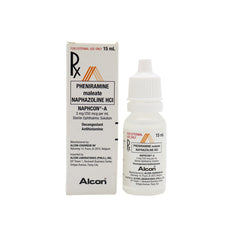 Rx: Naphcon - A 15 ml Solution