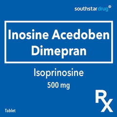 Rx: Isoprinosine 500 mg Tablet