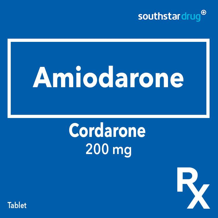 Rx: Cordarone 200 mg Tablet