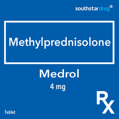 Rx: Medrol 4 mg Tablet