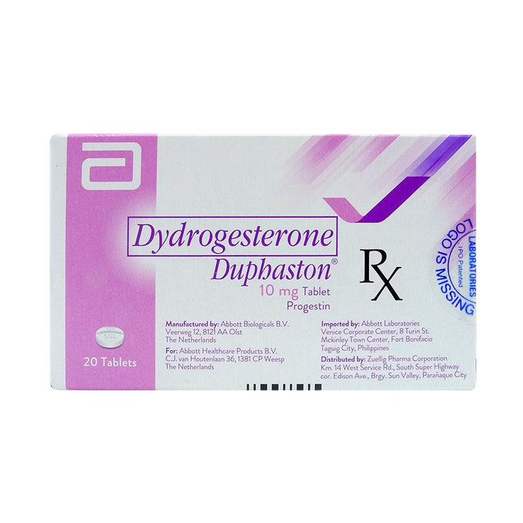 Rx: Duphaston 10 mg Tablet