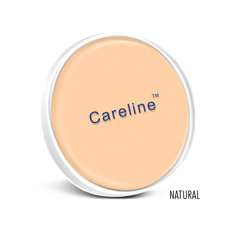 Careline Face Powder Refill Natural