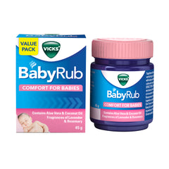 Vicks Baby Rub 45 g 60% OFF