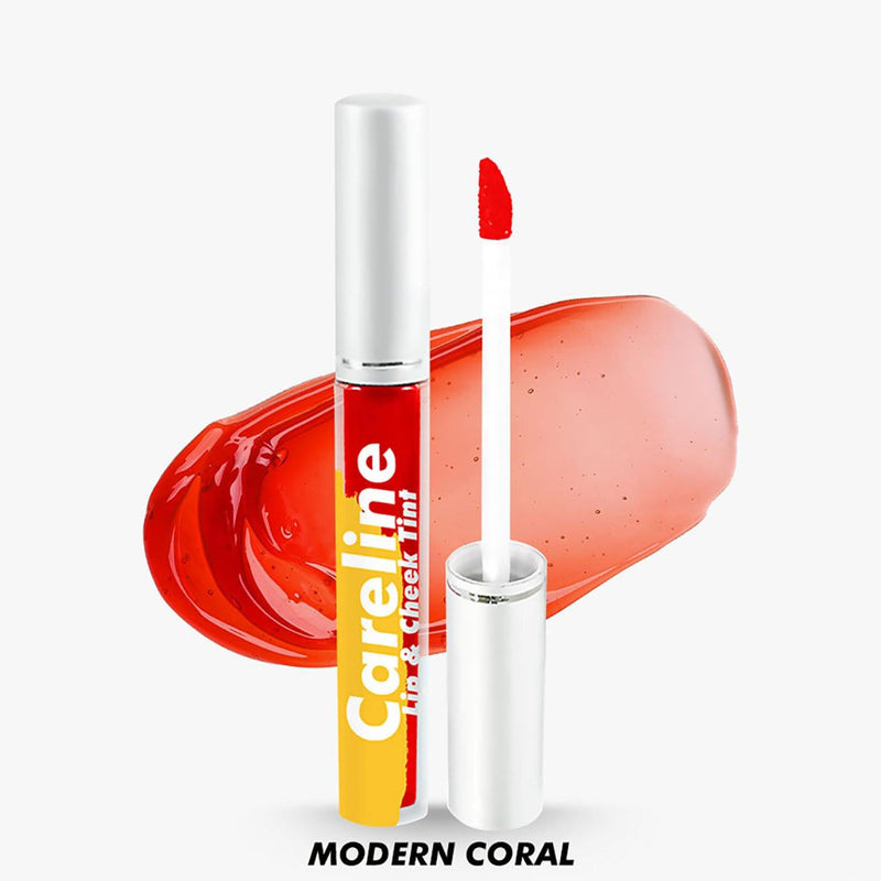 Careline Lip & Cheek Tint 3 ml - Modern Coral