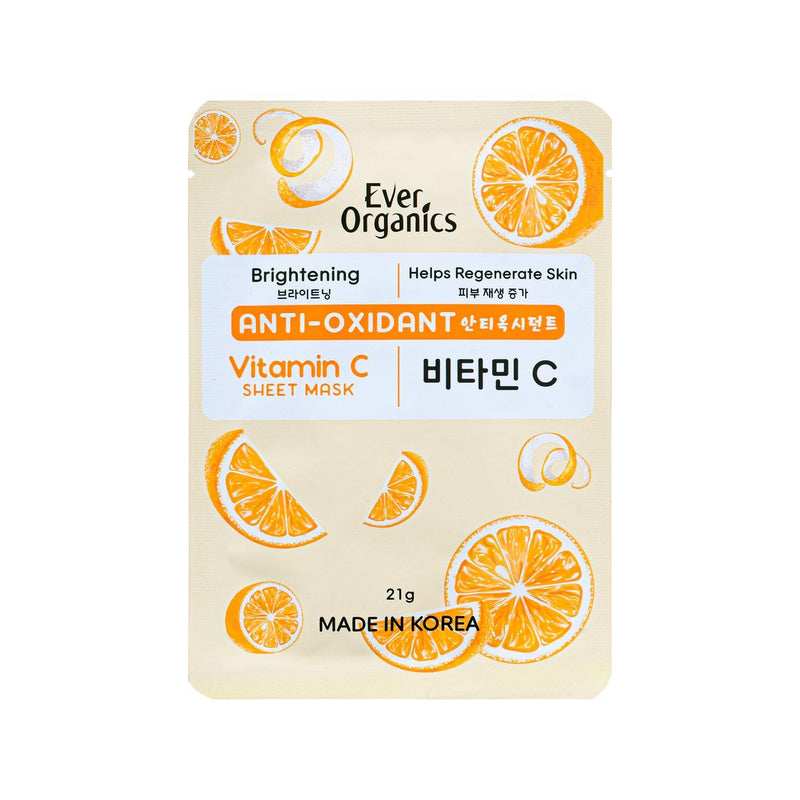 Ever Organics Vitamin C Sheet Mask 21g