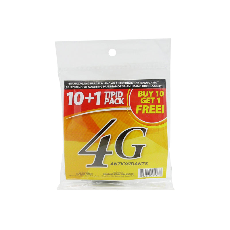4 - G Food Supplement 10 + 1 Capsule