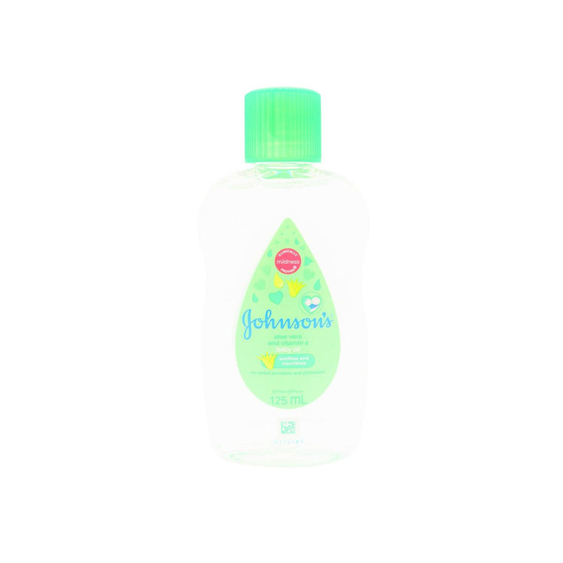 Johnson's Baby Oil Aloe 125 ml