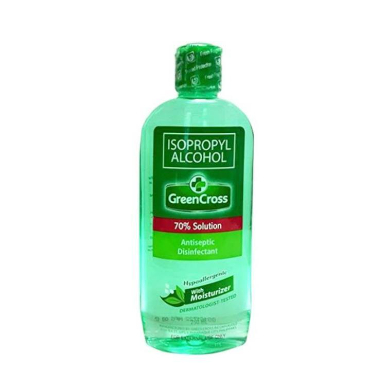 Green Cross Alcohol with Moisturizer 70% 250 ml