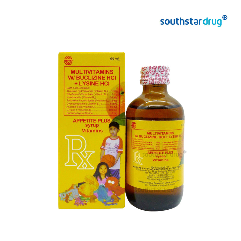 Appetite Plus 60 ml Syrup