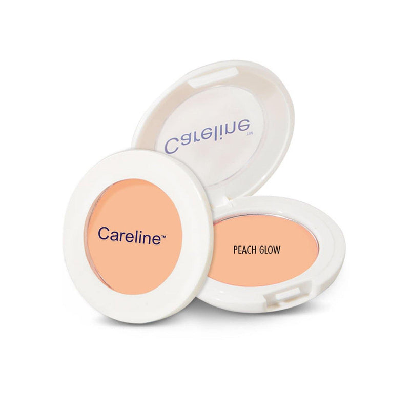 Careline Single Blush On Peach Glow