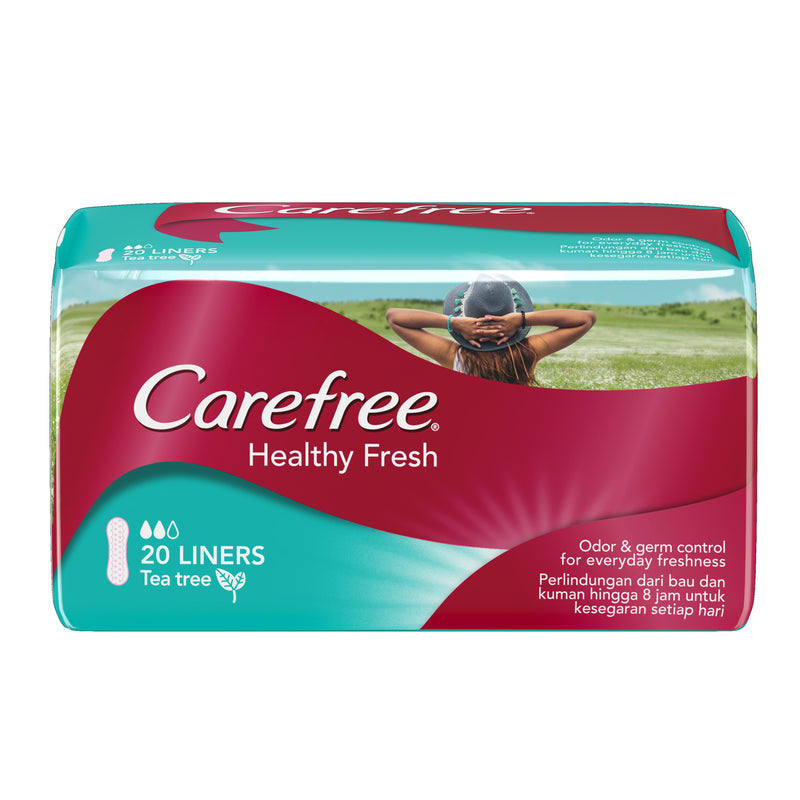 Carefree Healthy Fresh Panty Liner - 20s