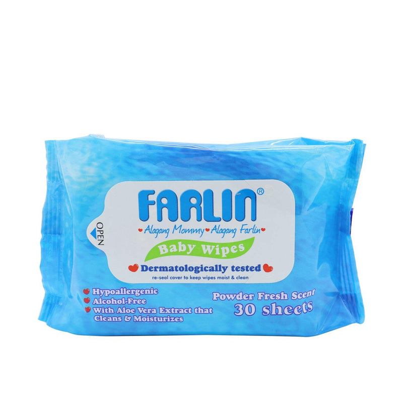 Farlin Baby Wipes - 30s