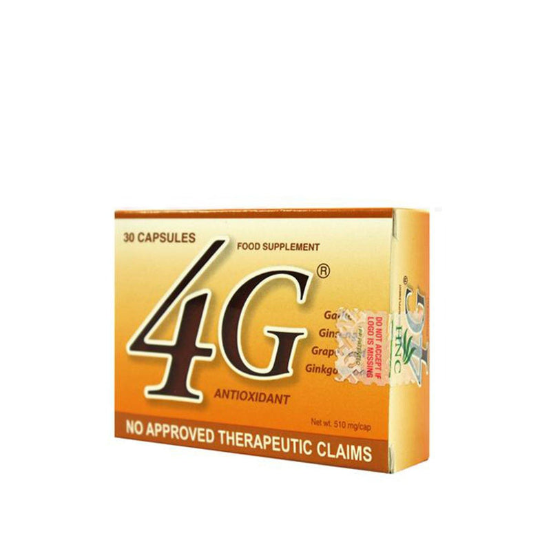 4 - G Food Supplement Capsule - 30s