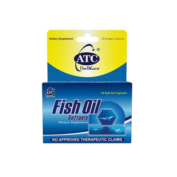 ATC Fish Oil 995 mg Soft Gel Capsule - 30s