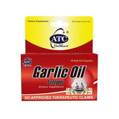 ATC Garlic Oil 500 mg Softgel - 30s