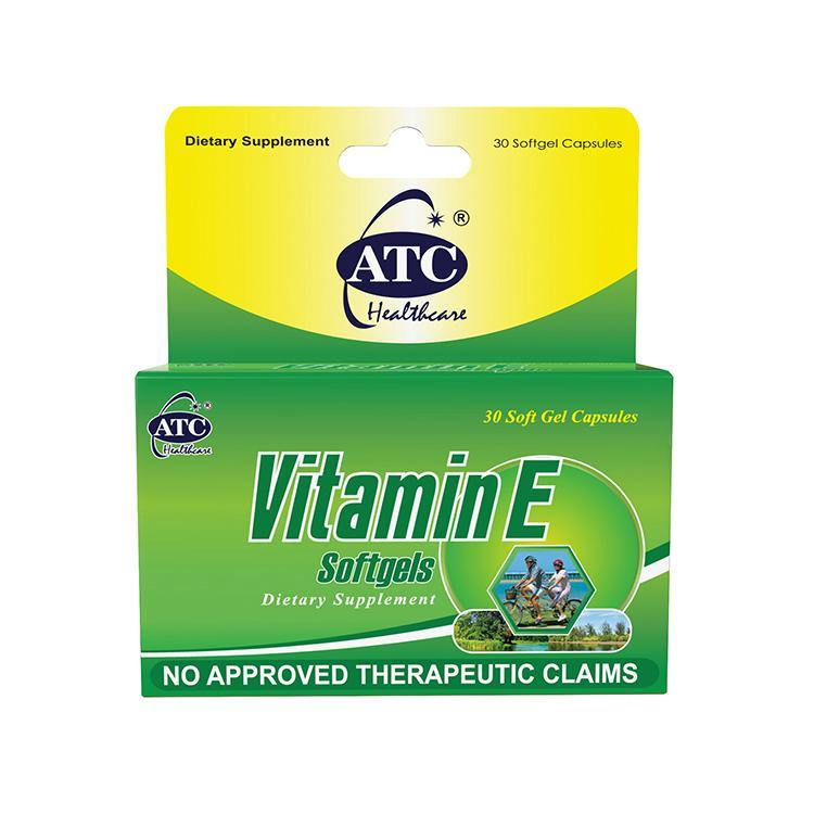 ATC Vitamin E 500 mg Softgel - 30s