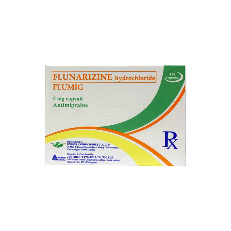 Rx: Flumig 5 mg Capsule