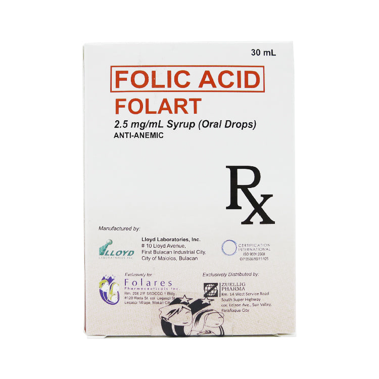 Folart 2.5 mg / ml 30 ml Drops