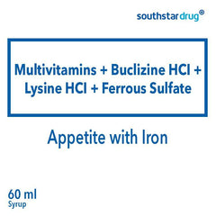 Appetite with Iron 60 ml Syrup