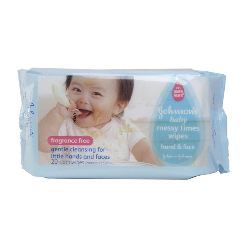 Johnson's Baby Wipes Messy Times - 20s