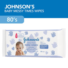 Johnson's Baby Wipes Messy Times - 80s