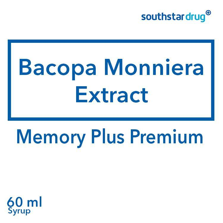 Memory Plus Premium 60 ml Syrup