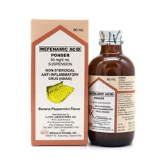 Ponser 50 mg / 5 ml 60 ml Suspension