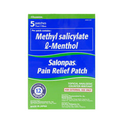 Salonpas Patch Medicated 5 x 1