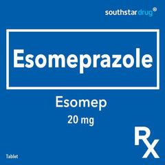 Rx: Esomep 20 mg Tablet