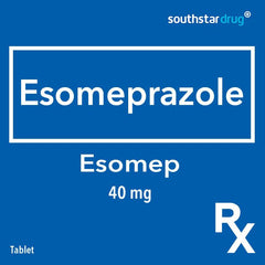 Rx: Esomep 40 mg Tablet