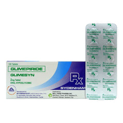 Rx: Glimesyn 2 mg Tablet