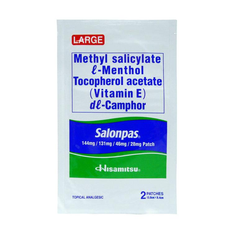 Salonpas Patch Medicated Large