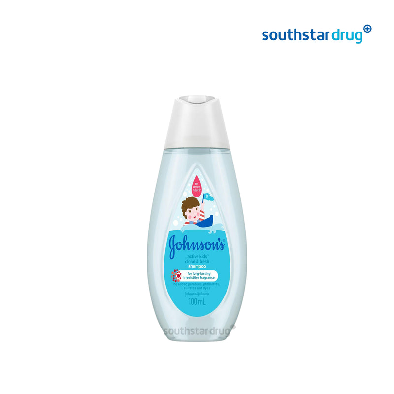 Johnson's Baby Shampoo Active Fresh 100 ml