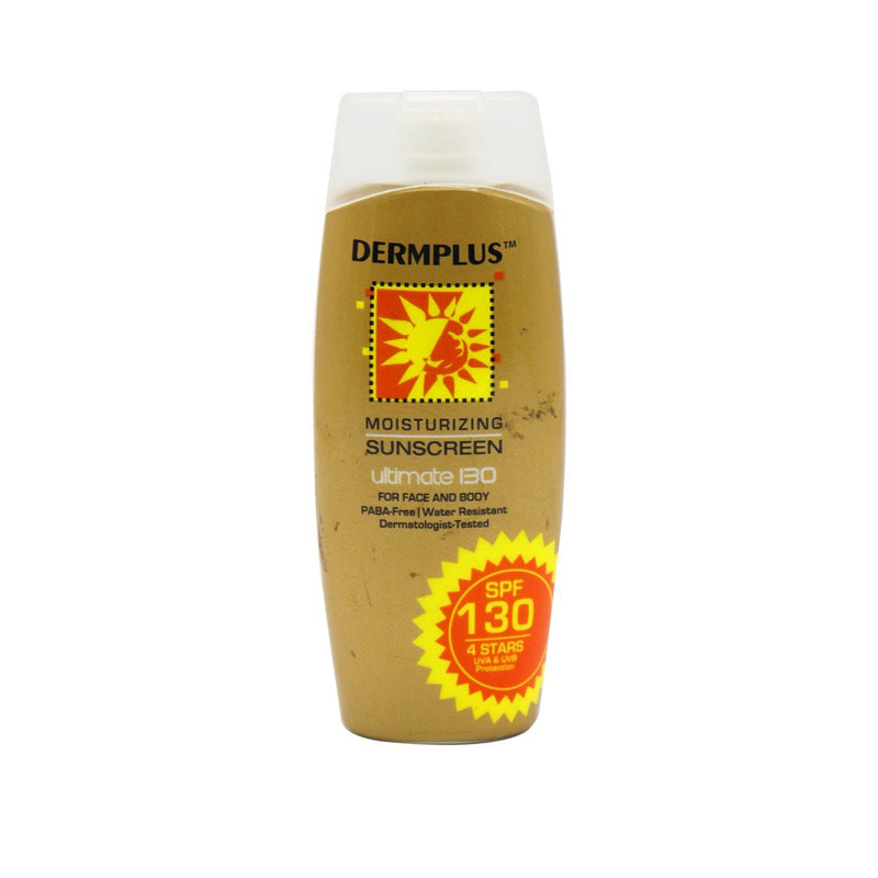 Dermplus Moisturizing Sunscreen Ultimate SPF 130 Sunblock Lotion 50 ml - Southstar Drug
