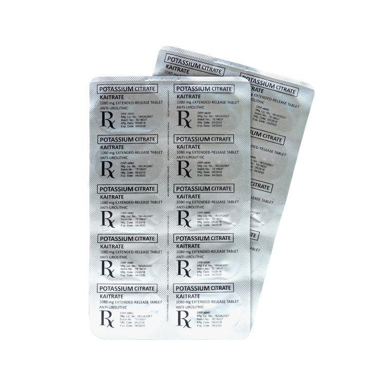 Rx: Kaitrate 1080 mg Tablet