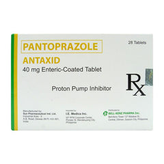 Rx: Antaxid 40 mg Tablet