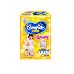 Mamy Poko Diaper Easy To Wear (XL) - 7s