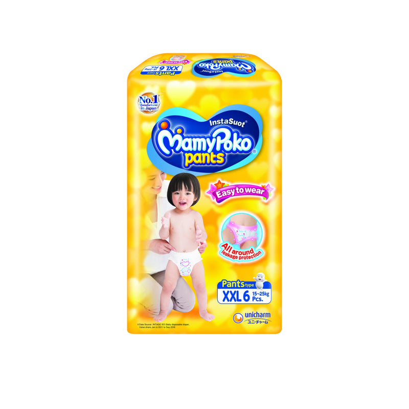 Mamy Poko Easy To Wear (XXL) Diaper - 6s