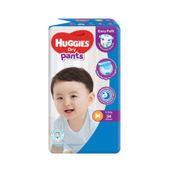 Huggies Dry Pants Pull Ups Medium - 34s - Southstar Drug