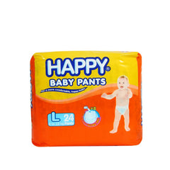 Happy Baby Pants Ultra Dry Diaper Large 24s - Southstar Drug